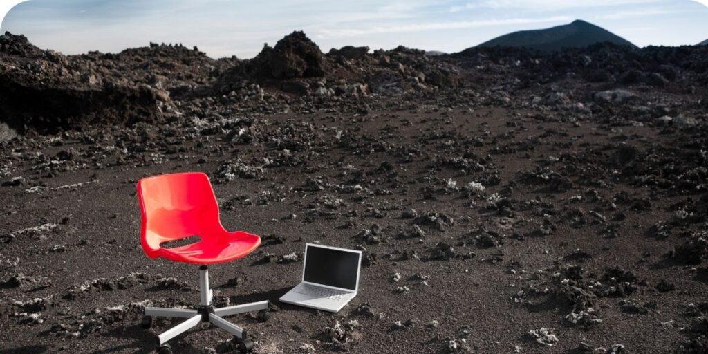 a virtual workplace